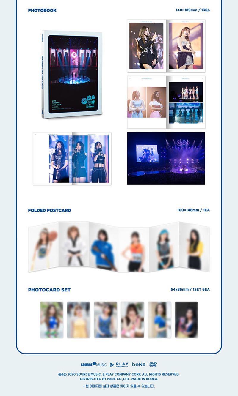 GFRIEND - 2019 Gfriend Asia Tour (Go Go Gfriend!) in Seoul DVD