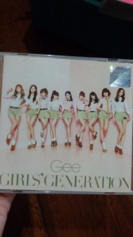 GIRLS' GENERATION GEE (JAPANESE VERSION) 1CD+2ND #Survivor