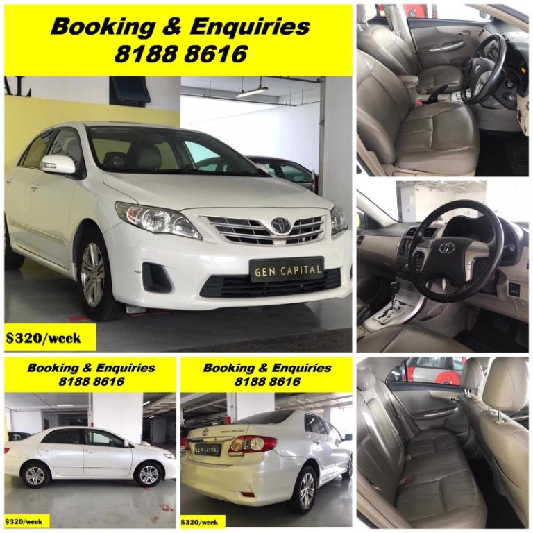 HAPPY SUNDAY!!! Most Reliable & Cheapest Car rental in town with just $500 Deposit driveoff immediately. Free rental for new signup contracts. Fuel Eficient & Spacious car. Whatsapp 8188 8616 now to enjoy special rates!!