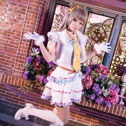 LL Love live school idol project kotori minami snow halation cosplay costume