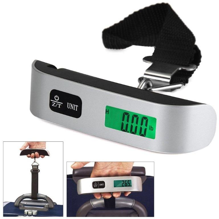 MUST BUY FOR TRAVEL!! Portable Digital Luggage Scale Max 50kg