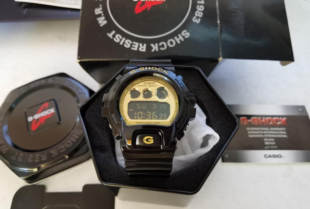 New Gshock diver unisex sports watch 100% authentic and Original  DW-6900CB-1DS Casio BabyG  Gshock Watch