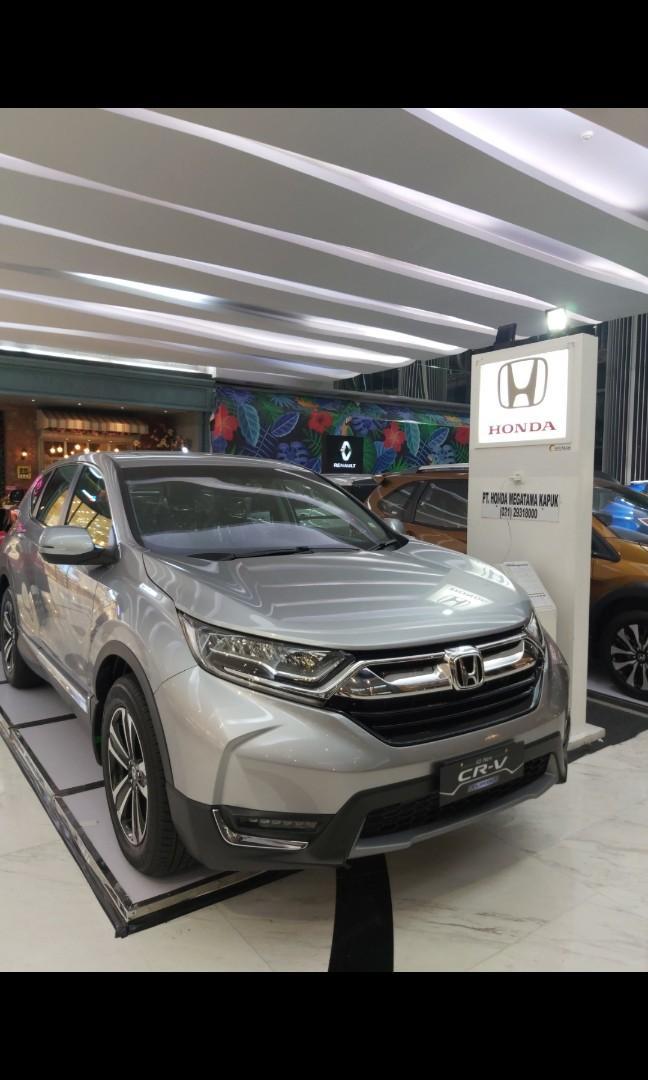 New honda crv 1.5 turbo prestige free emas 5 gram cashback puluhan juta!