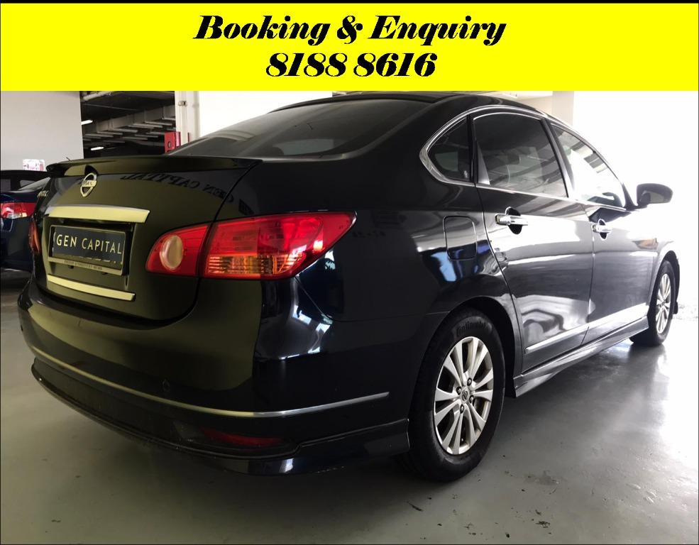 Nissan Sylphy HAPPY SUNDAY!! Most Reliable & Cheapest Car rental in town with just $500 Deposit driveoff immediately. Free rental for new signup contracts. Fuel Eficient & Spacious car. Whatsapp 8188 8616 now to enjoy special rates!!