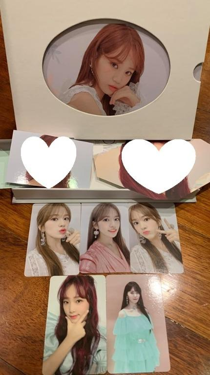 Selling IZ*ONE Bloom*IZ Photocards / postcard / Minicard / AR Cards! BLOOMIZ IZONE