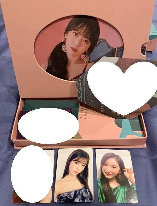 Selling IZ*ONE Bloom*IZ Photocards / postcard / Minicard / AR Cards! IZONE BLOOMIZ