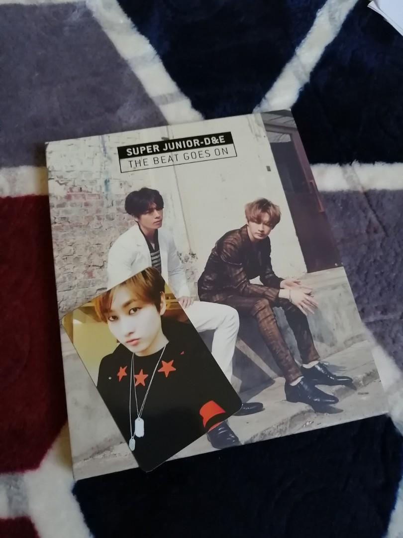 Super Junior DnE - 1st Mini Album - The Beat Goes On