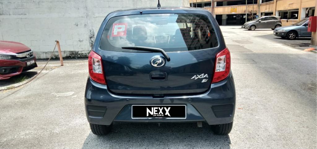 NEW | Perodua Axia - Car Rental - Kereta Sewa Murah Kuala Lumpur