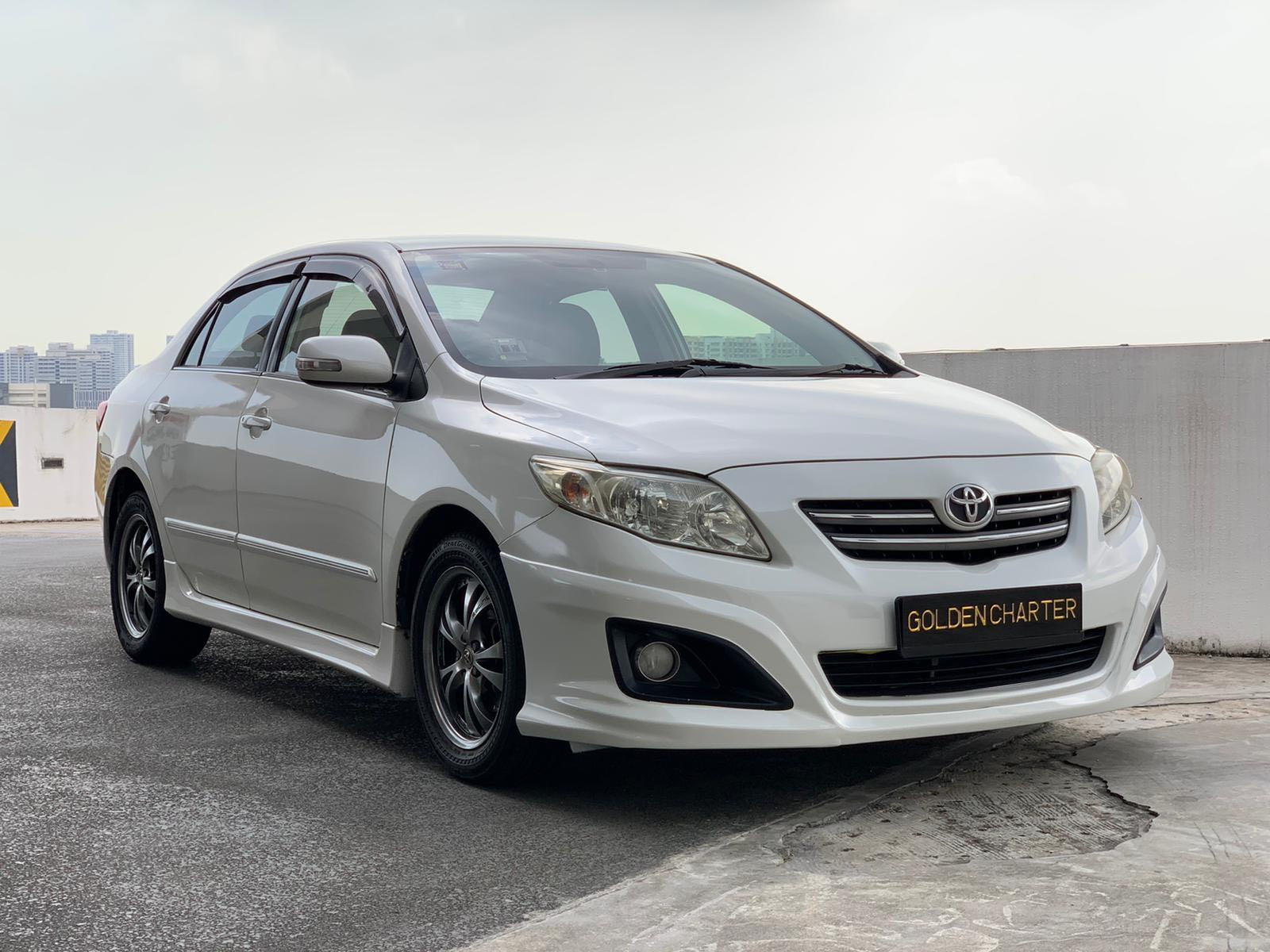 Toyota Altis For Rent! Private hire or personal use