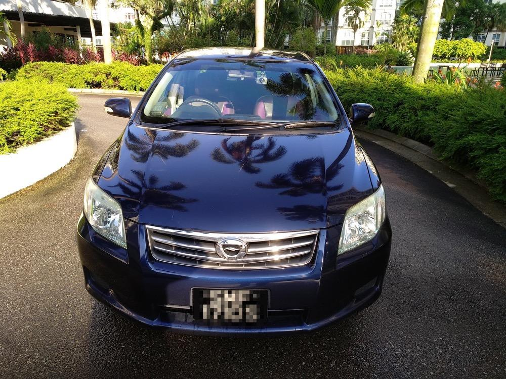 Toyota Axio - Fuel efficient, for grab/gojek PHV driving - better than Altis !!
