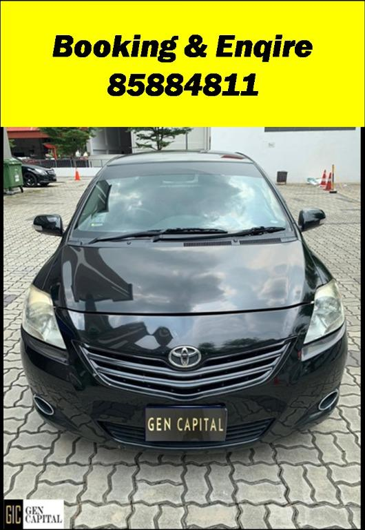 Toyota Vios HAPPY SUNDAY!! Most Reliable & Cheapest Car rental in town with just $500 Deposit driveoff immediately. Free rental for new signup contracts. Fuel Eficient & Spacious car. Whatsapp 8188 8616 now to enjoy special rates!!