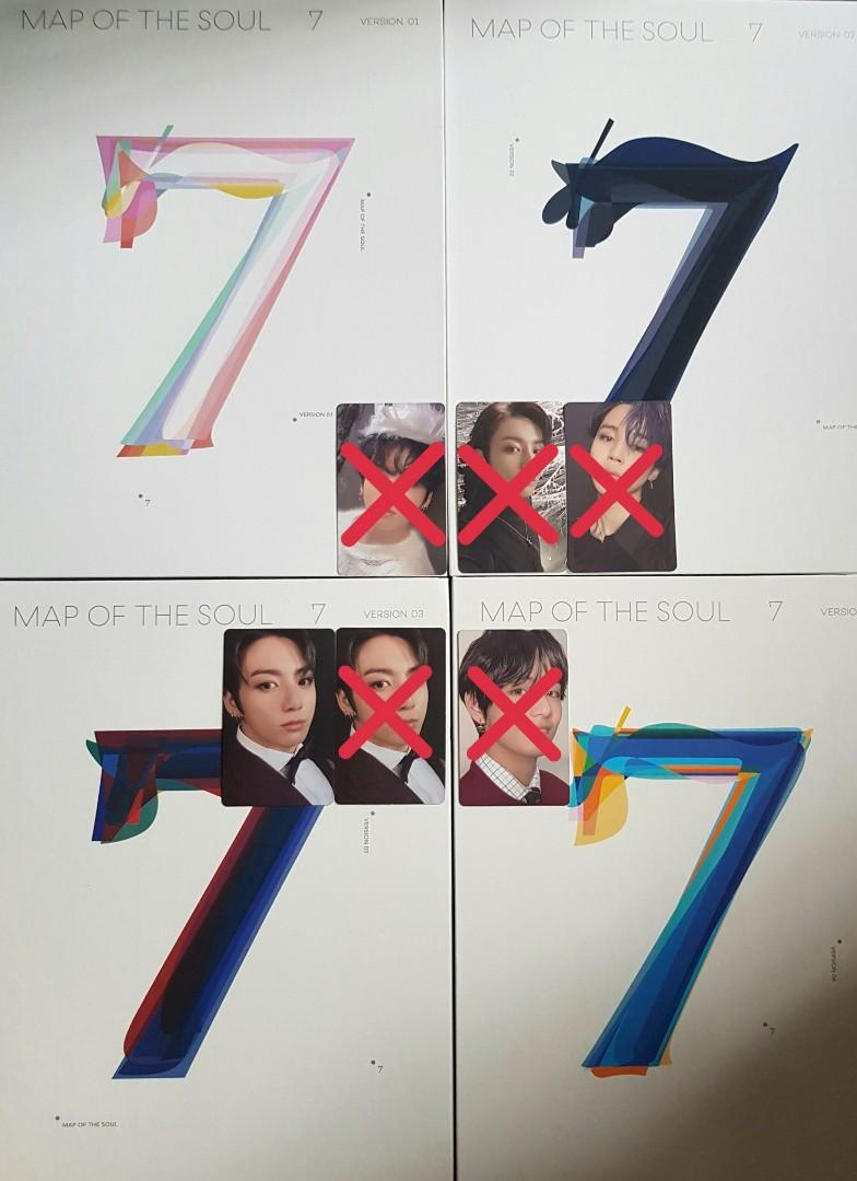 [WTB/WTT]  Map Of The Soul [MOTS:7]  Official Photocards