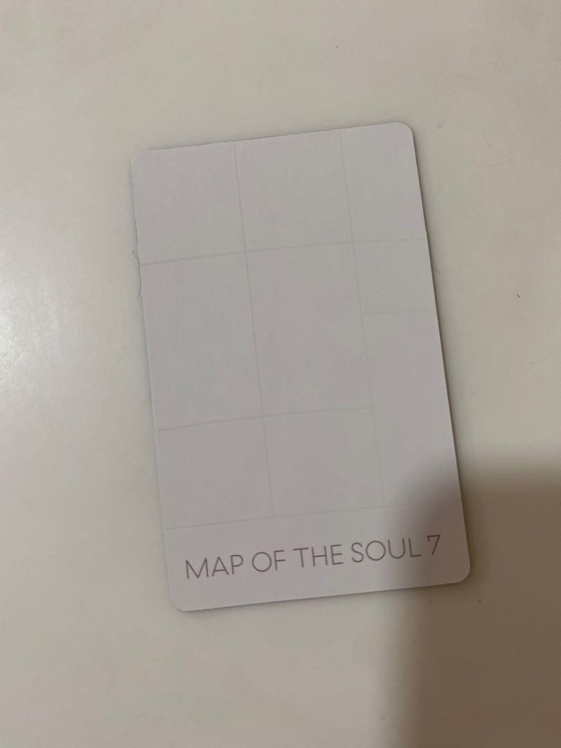 [WTS] BTS MAP OF THE SOUL 7 SUGA VERSION 3 PHOTOCARD