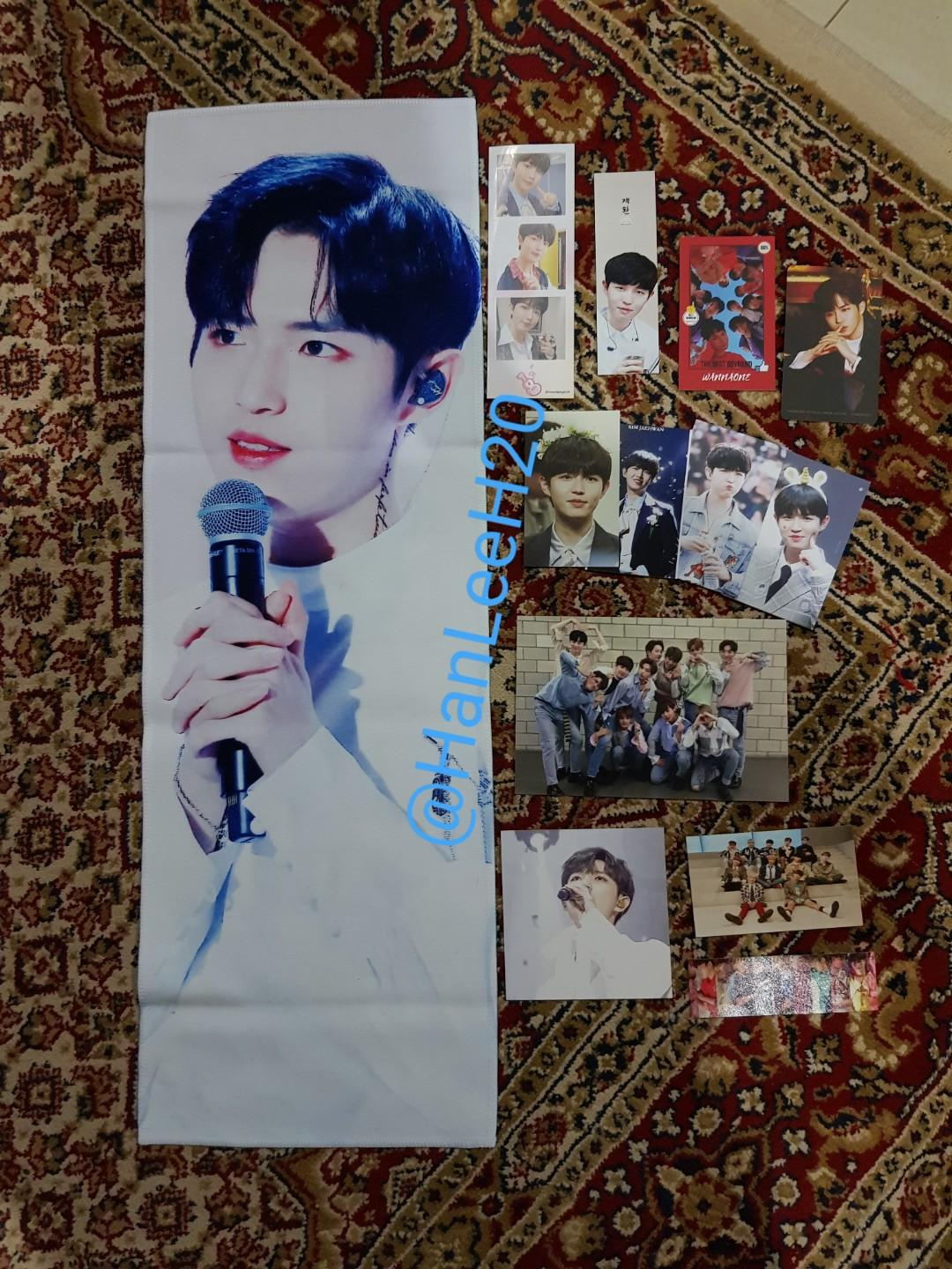 WTS Wanna One Kim Jaehwan Therefore Slogan from @/jjaenbly527