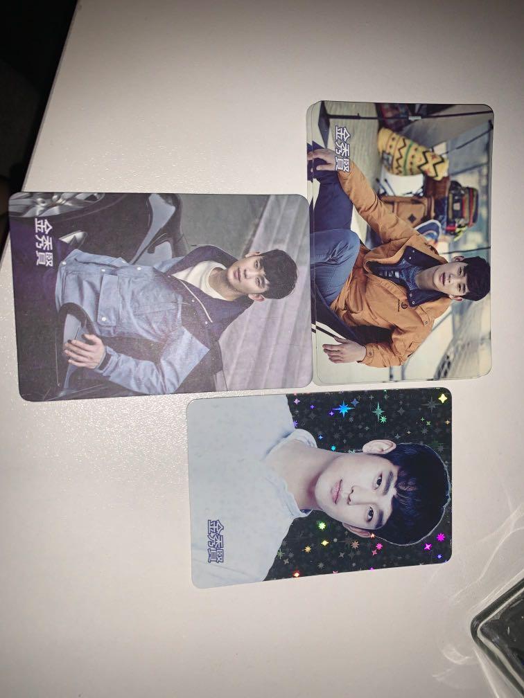 Yes card (金秀賢 宋仲基 BTS J-Hope 李敏鎬 安宰賢