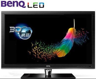 BenQ X46-5500 46吋 3D LED 液晶電視 獨家防眩光玻璃黑湛屏影像技術 高雄市 面交