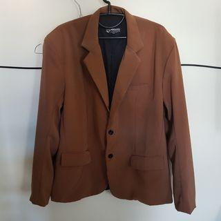Brown Blazer jas resmi - formal
