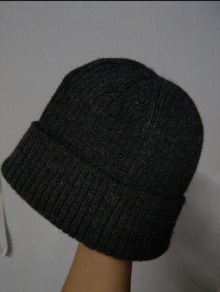 短毛帽 灰色