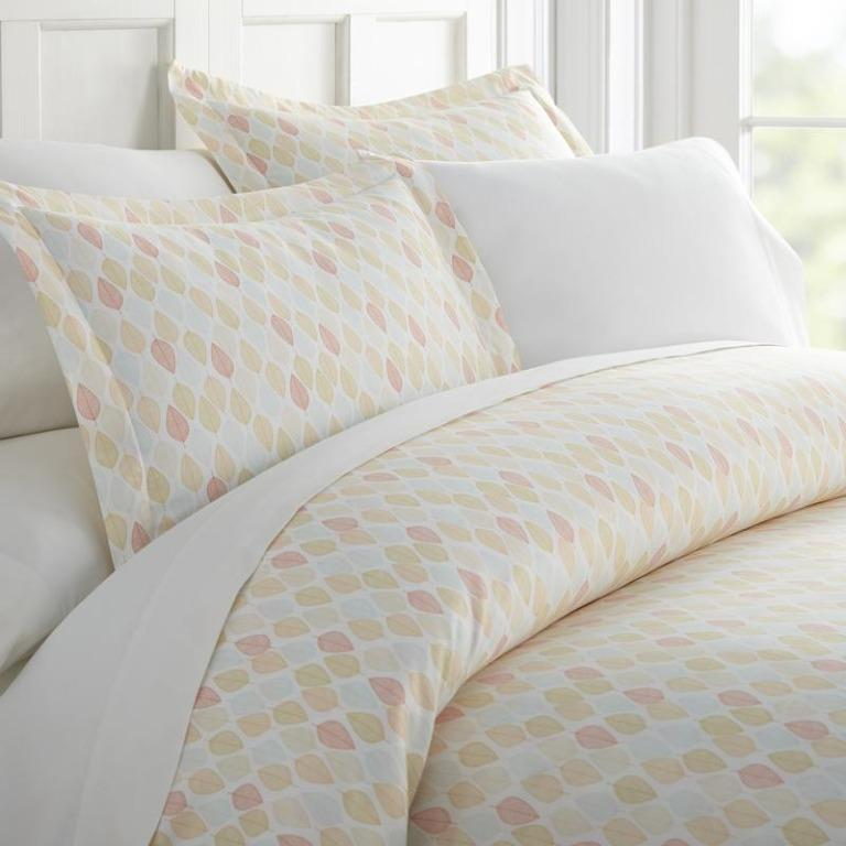 3 Piece Premium Ultra Soft Duvet Cover Set (Size Queen/Full)