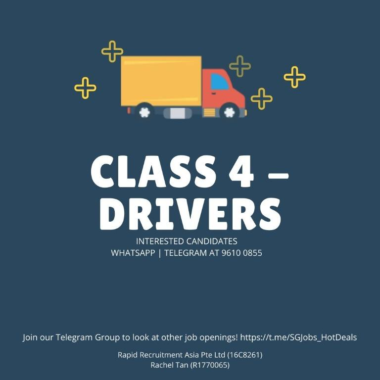 🚛 Class 4 Drivers - Up to $3,000 | WEST/EAST  | URGENT