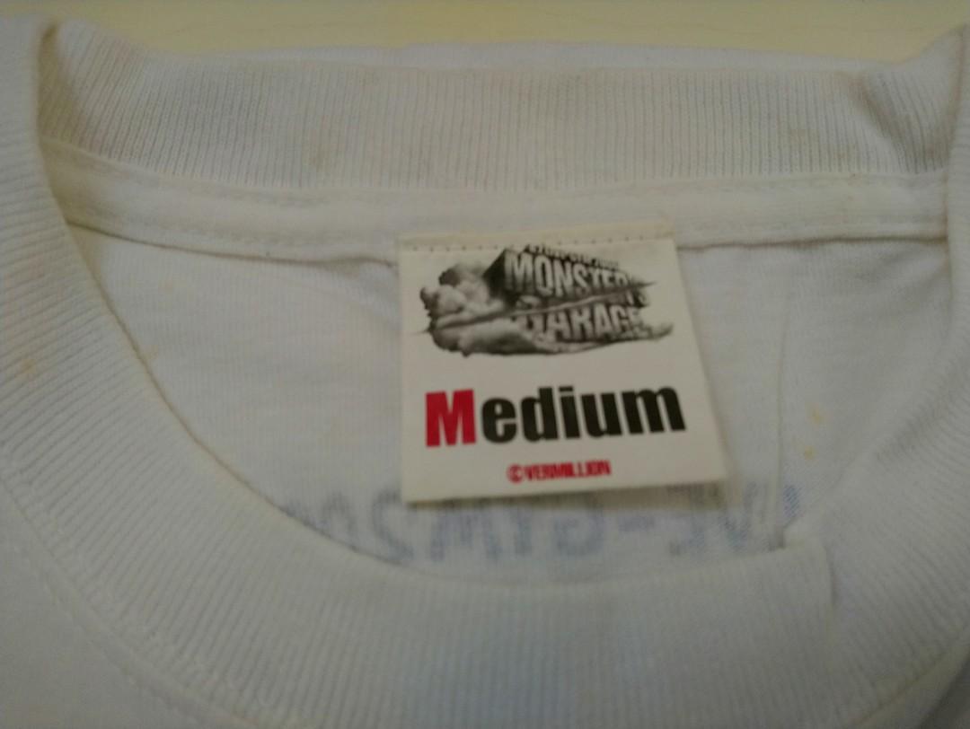 B'z-LIVE-GYM 2006 MONSTERS GATAGRE-Concert T-Shirt(Official Collectibles item)-**with free Souvenir