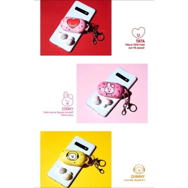 ‼️CASE ONLY ‼️【OFFICIAL】READY STOCK  BT21 SAMSUNG GALAXY BUDS  PROTECT CASE CHIMMY/ TATA /COOKY