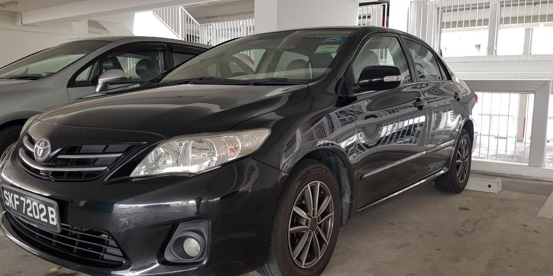 CHEAPEST BUDGET CAR RENTAL TOYOTA ALTIS AND OTHER CARS FROM $40 CALL 93230440 NOW