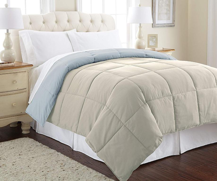 Down Alternative Reversible Comforter (Size Twin/Twin XL)