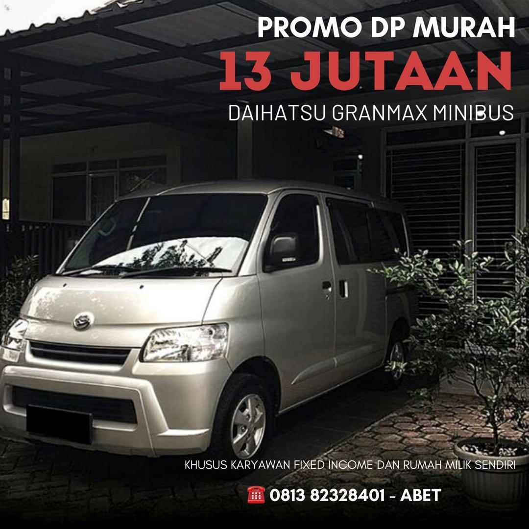 DP RINGAN Daihatsu Granmax Minibus mulai 13 jutaan. Daihatsu Pamulang