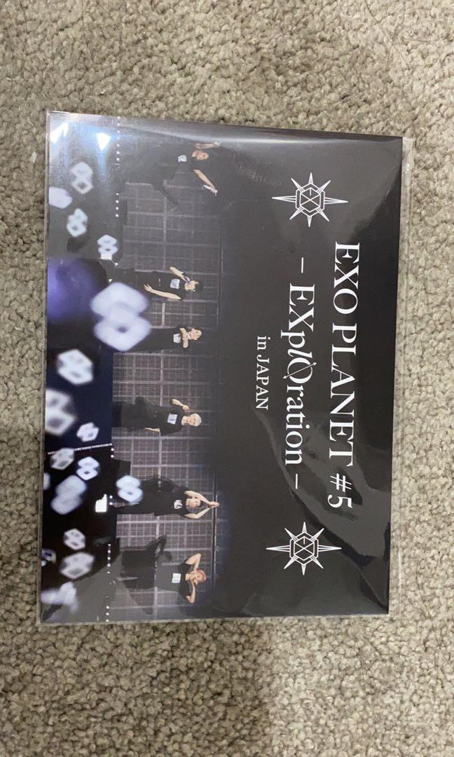 EXO Exploration in Japan DVD first press &limited edition