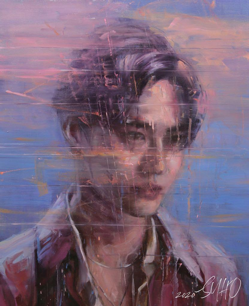 EXO SUHO - Self-portrait (1ST mini-album) [Cover 2 Type]