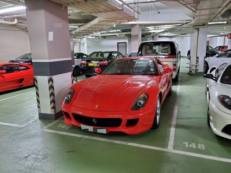 Ferrari 599 F1 Auto