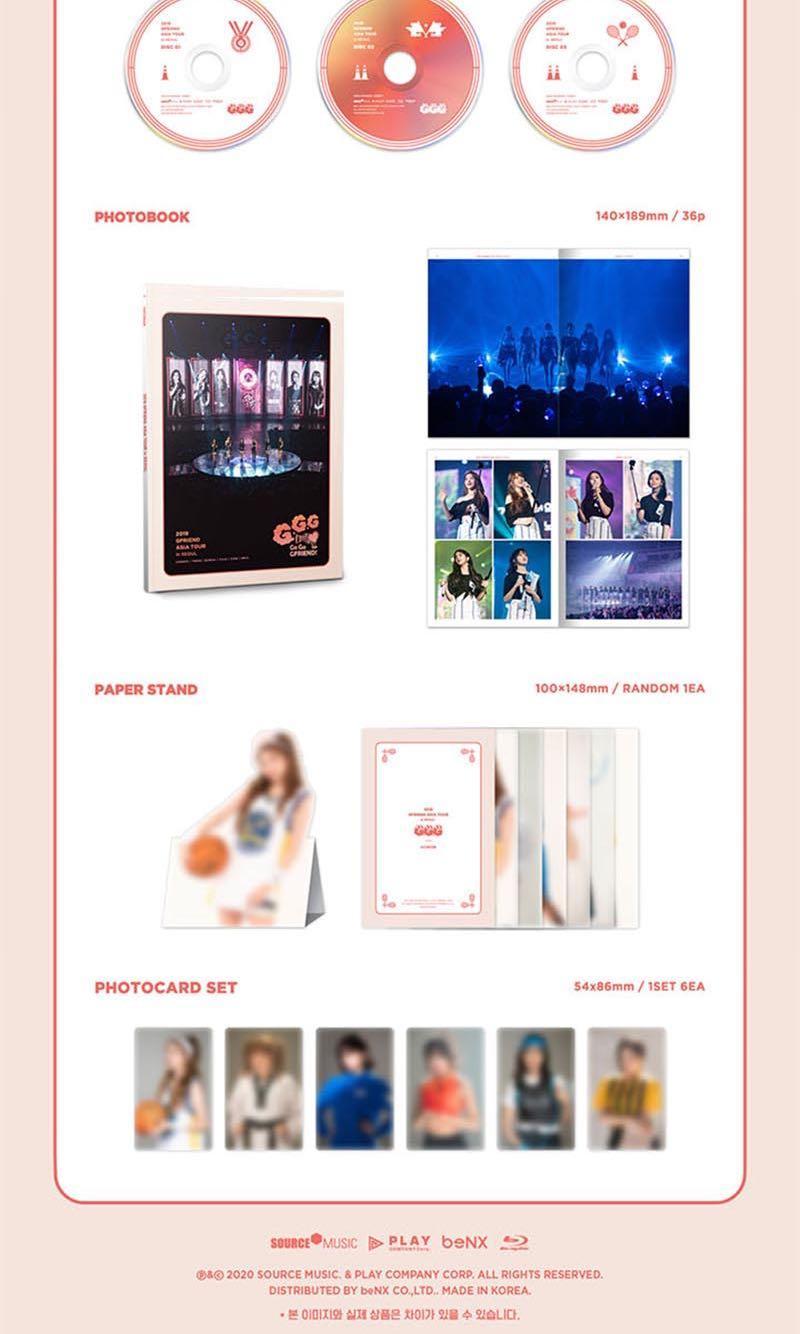 GFRIEND - 2019 Gfriend Asia Tour (Go Go Gfriend!) in Seoul Blu-Ray