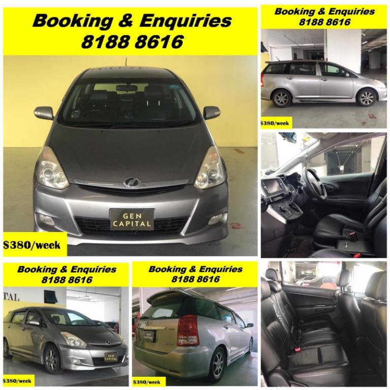 HAPPY MONDAY!! Most Reliable & Cheapest Car rental in town with just $500 Deposit driveoff immediately. FREE Petrol Voucher &  FREE rental for new signup contracts. Fuel Eficient & Spacious car. Whatsapp 8188 8616 now to enjoy special rates!!