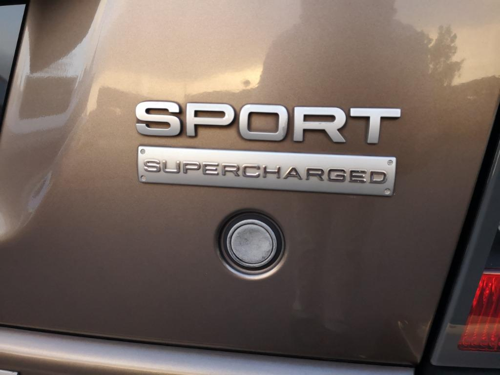 Land Rover Range Rover Sport 5.0 Supercharged Autobiography SUV [VVIP OWNER]YEAR MAKE 2009 REG 2012