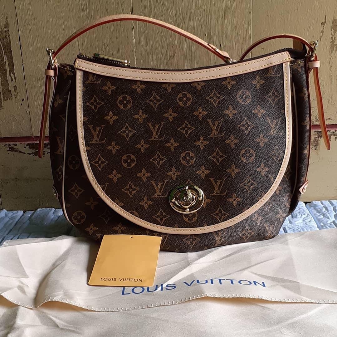 Louis Vuitton Bag slingbag original leather bahan kulit asli ada noser mulus ya Like New