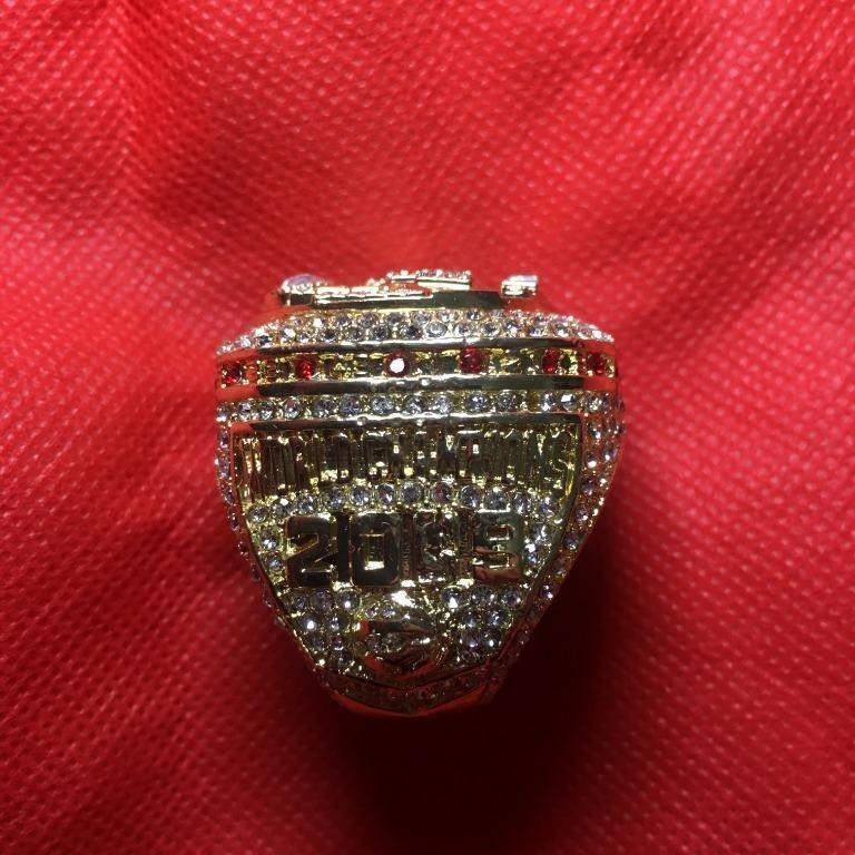 NBA Toronto Raptors Replica Championship Ring with Box (Size 8)