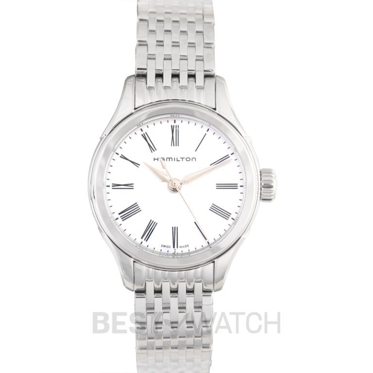 [NEW] Hamilton American Classic Quartz Mother of pearl Dial Stainless Steel Ladies Watch H39251194