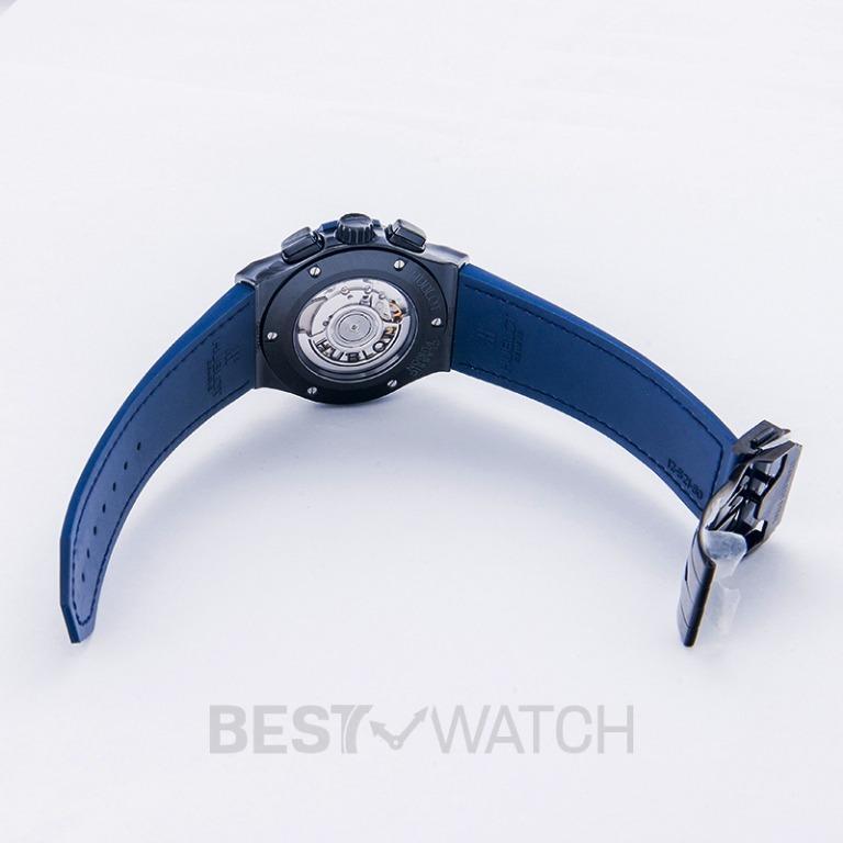 [NEW] Hublot Classic Fusion Ceramic Blue Chronograph Automatic Blue Dial Men's Watch 521.CM.7170.LR