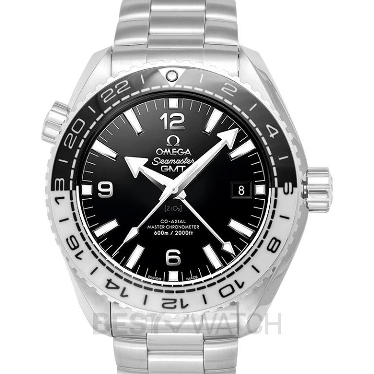 [NEW] Omega Seamaster Planet Ocean 600M Co-axial Master Chronometer GMT 43.5 mm Automatic Black Dial Steel Men's Watch 215.30.44.22.01.001
