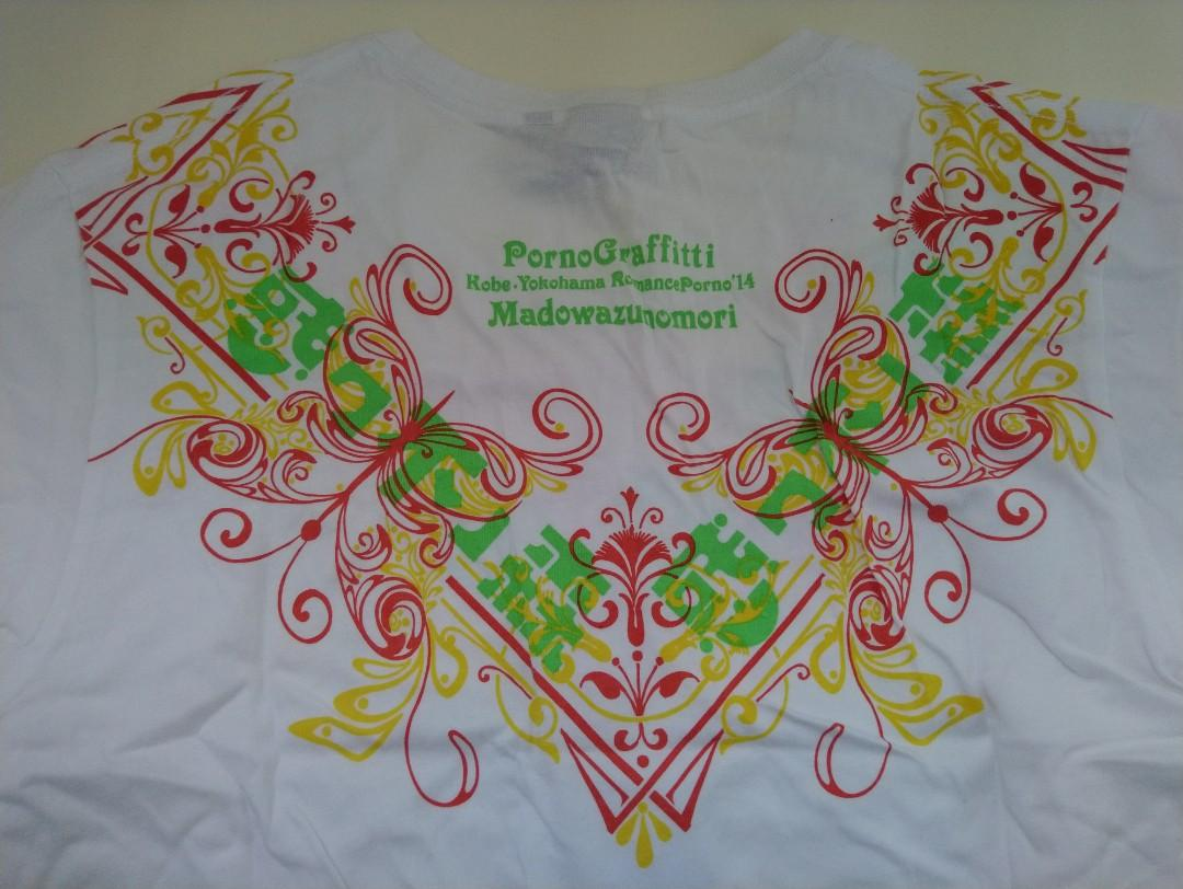 PornoGraffitti-Kobe·Yokohama Romance Porno'14 -Concert T-Shirt(Official Collectibles)-**with free Souvenir