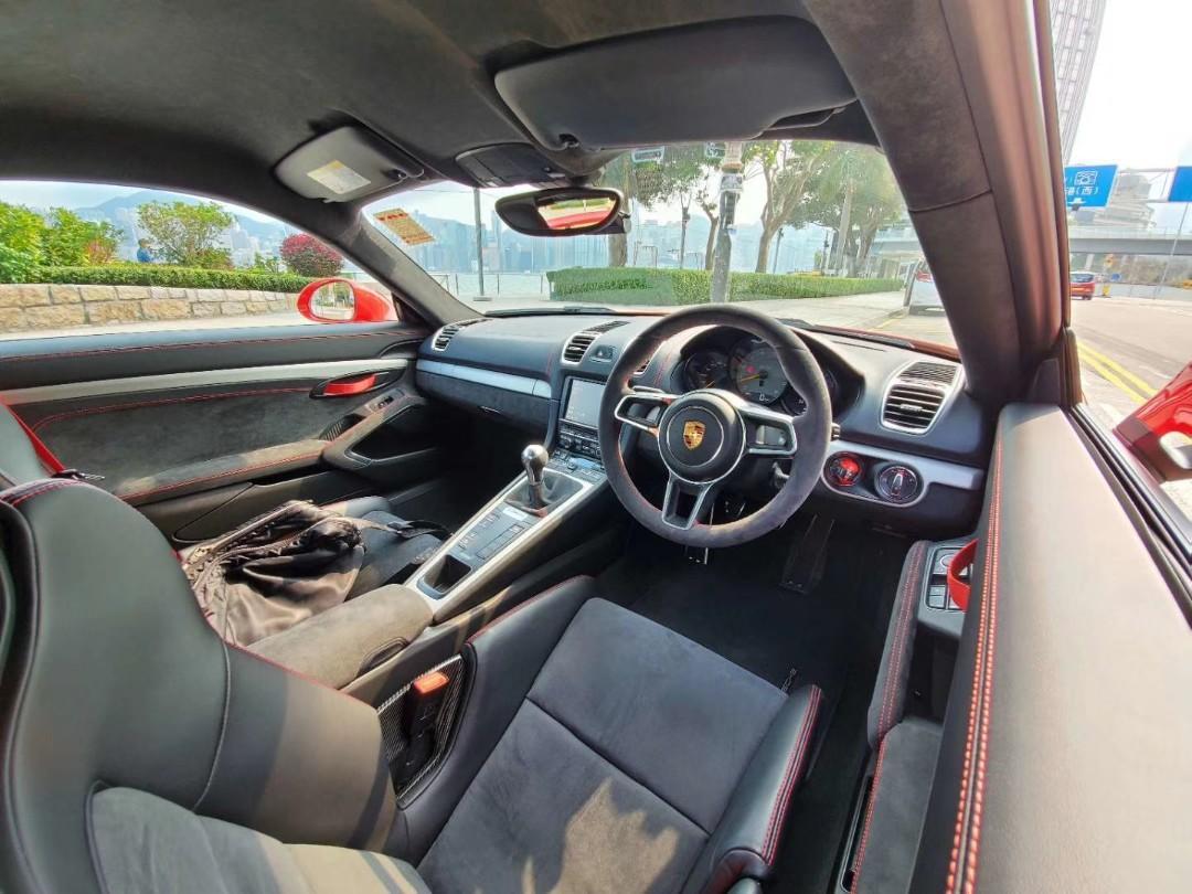 Porsche Cayman 3.8 GT4 (M)