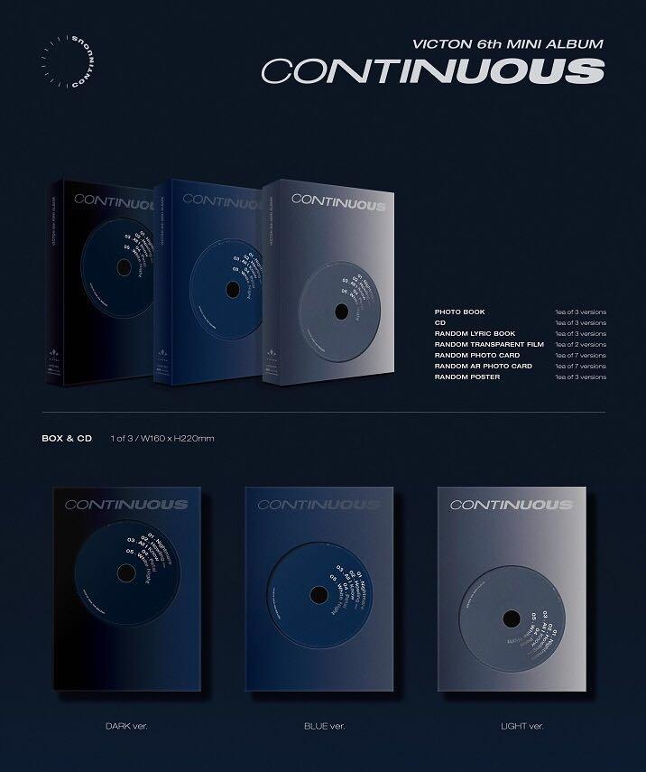 [Pre-Order] VICTON - Mini Album Vol.6 (CONTINUOUS)