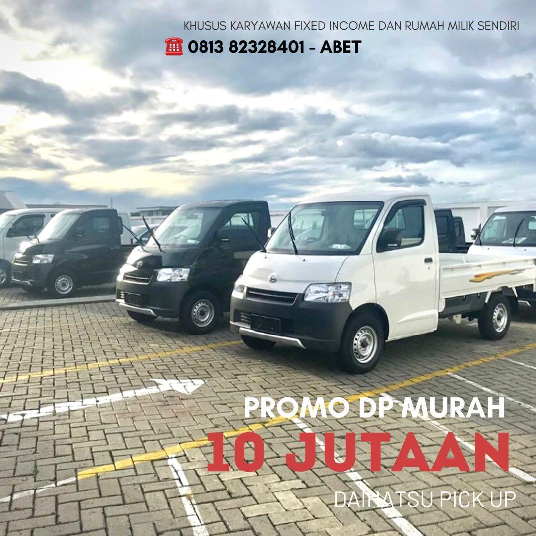 PROMO LEBARAN Daihatsu Pick Up DP mulai 10 jutaan. Daihatsu Pamulang