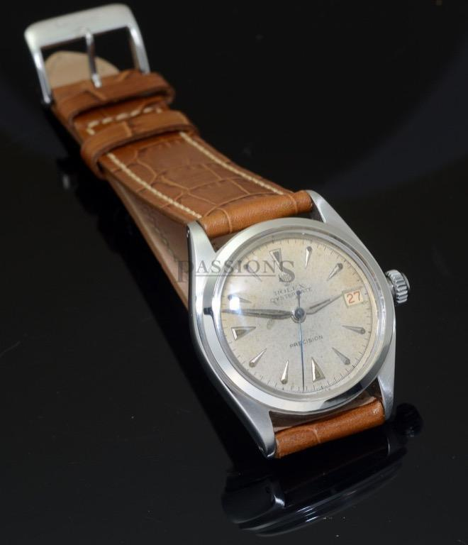 Rolex Vintage 6066 rare (come with the brown leather strap and the blue canvas straps as seen