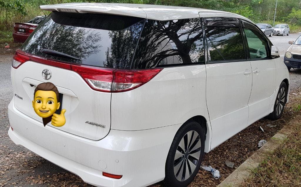 toyota estima 2.4/3.5 (SG CAR COMPLETE DOCUMENT, HALAL DI ATAS JALAN RAYA NALAYSIA)
