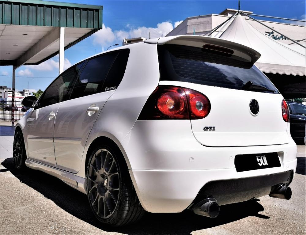 Volkswagen Golf 2.0 GTi MK5 [TIPTOP-CONDITION][STAGE 3][BIG TURBO K04]ACTUAL YEAR MAKE 2007