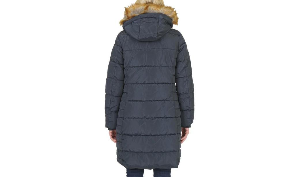 Women's Quilted Hooded Puffer Jacket with Cozy Lining (Size 2X)