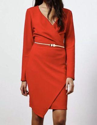 Miss Selfridge Red Dress