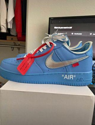 Off white nike air forces